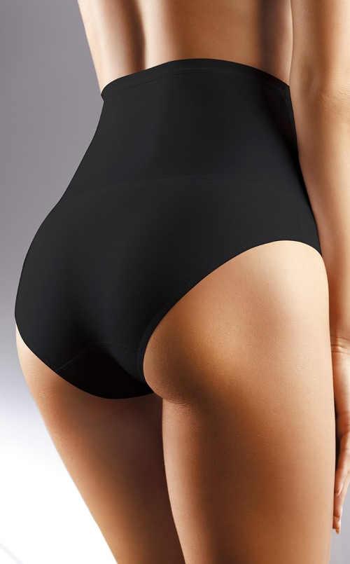 Vyššia sťahovacie nohavičky pod čierne plesové šaty