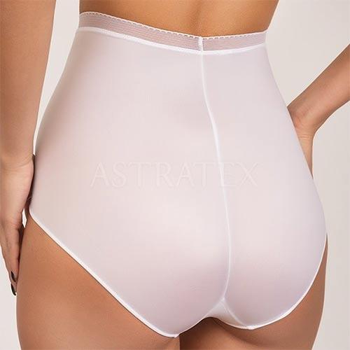 Biele vysoké dámske nohavičky