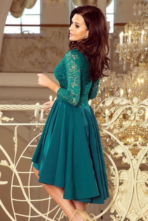Dámske šaty vhodné pre ženy plnších tvarov