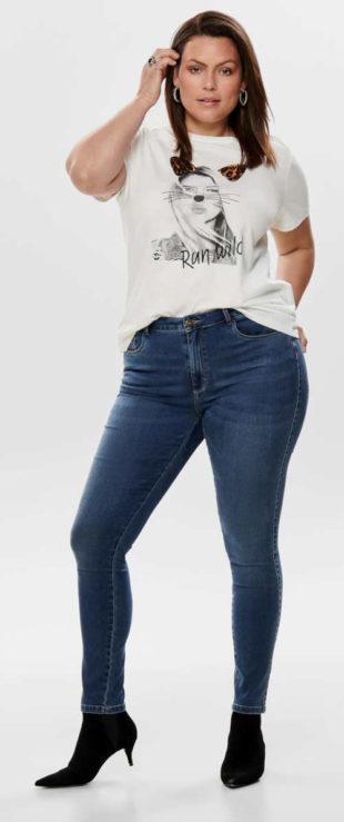 Iba dámske džínsy pre široké boky