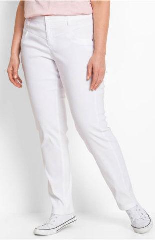Strečové zoštíhľujúce nohavice pre ženy